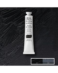 Winsor & Newton Artist Oil Colors - 200ml - Lamp Black