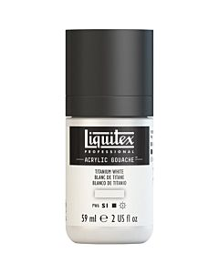 Liquitex Acrylic Gouache - 59ml - Titanium White