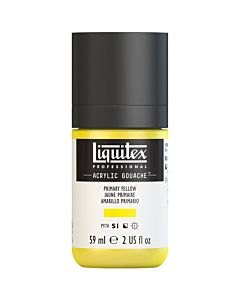 Liquitex Acrylic Gouache - 59ml - Primary Yellow