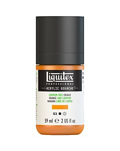 Liquitex Acrylic Gouache - 59ml - Cadmium Free Orange