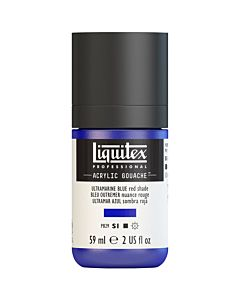 Liquitex Acrylic Gouache - 59ml - Ultramarine Blue (Red Shade)