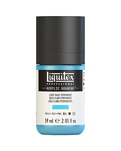 Liquitex Acrylic Gouache - 59ml - Light Blue Permanent