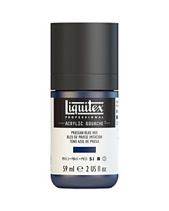 Liquitex Acrylic Gouache - 59ml - Prussian Blue Hue