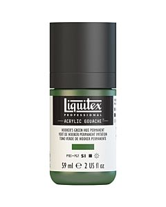 Liquitex Acrylic Gouache - 59ml - Hookers Green Hue Permanent