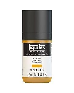 Liquitex Acrylic Gouache - 59ml - Yellow Oxide