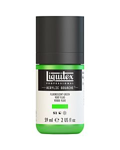 Liquitex Acrylic Gouache - 59ml - Fluorescent Green