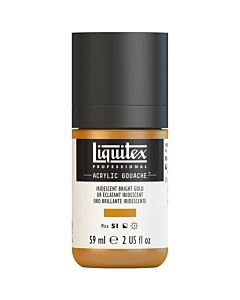Liquitex Acrylic Gouache - 59ml - Iridescent Bright Gold