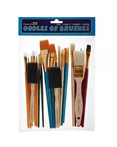 Oodles of Brushes - 25pc Set