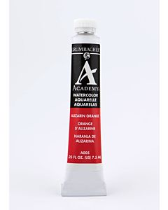 Grumbacher Academy Watercolor - 7.5ml - Alizarin Orange