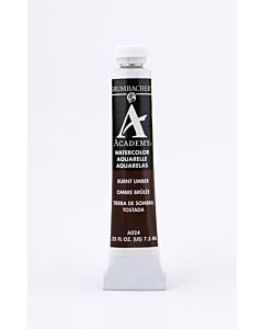 Grumbacher Academy Watercolor - 7.5ml - Burnt Umber