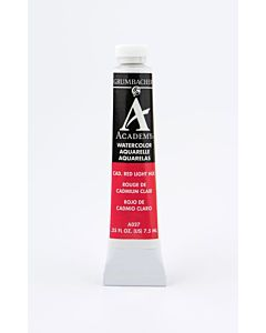 Grumbacher Academy Watercolor - 7.5ml - Cadmium Red Light Hue
