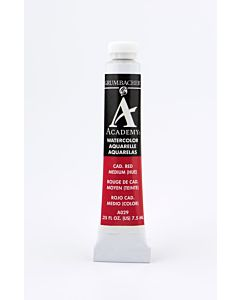 Grumbacher Academy Watercolor - 7.5ml - Cadmium Red Medium Hue