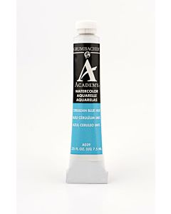 Grumbacher Academy Watercolor - 7.5ml - Cerulean Blue Hue