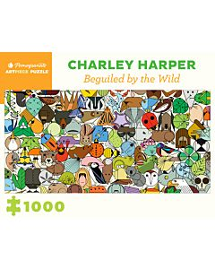 Charley Harper: Beguiled by Wild 1000-Piece Jigsaw Puzzle