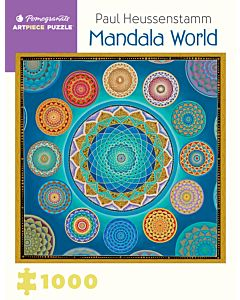 Paul Heussenstamm: Mandala World 1,000-piece Jigsaw Puzzle
