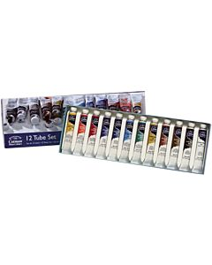 Winsor & Newton Cotman Watercolor 12 Tube Set