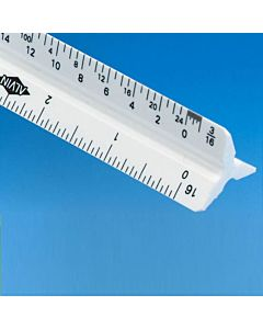 "Alvin 12"" Engineering Scale Ruler"