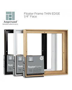 """Ampersand Floater Frame Thin 8x8 7/8"""" Depth - Maple"""