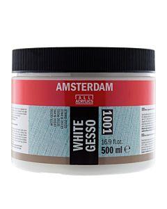 Amsterdam Acrylic Medium 16oz (500ml) - White Gesso