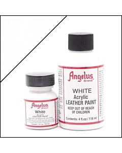 Angelus Acrylic Leather Paint - 1oz - White
