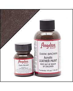Angelus Acrylic Leather Paint - 1oz - Dark Brown Paint