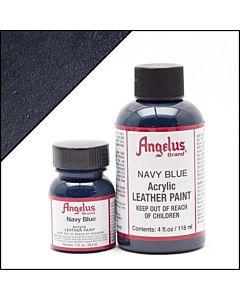 Angelus Acrylic Leather Paint - 1oz - Navy Blue Paint
