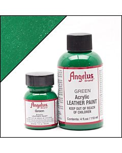 Angelus Acrylic Leather Paint - 1oz - Green Paint