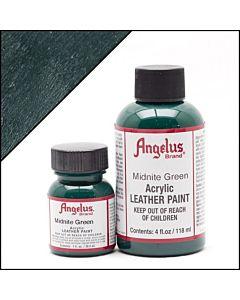 Angelus Acrylic Leather Paint - 1oz - Midnite Green