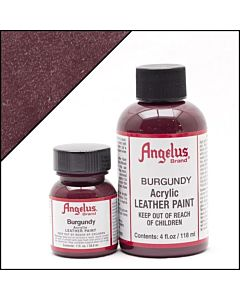 Angelus Acrylic Leather Paint - 1oz - Burgundy
