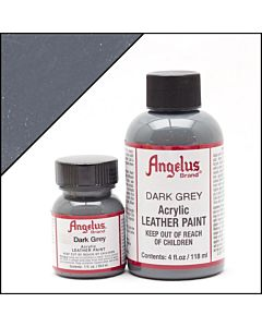 Angelus Acrylic Leather Paint - 1oz - Dark Grey Paint