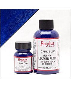 Angelus Acrylic Leather Paint - 1oz - Dark Blue Paint