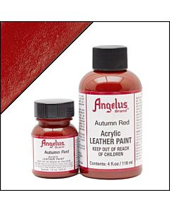 Angelus Acrylic Leather Paint - 1oz - Autumn Red Paint