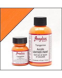 Angelus Acrylic Leather Paint - 1oz - Tangerine Paint