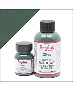 Angelus Acrylic Leather Paint - 1oz - Olive Paint