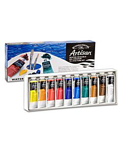 Artisan Water-Mixable Oil Color Studio Set of 10 37ml Tubes