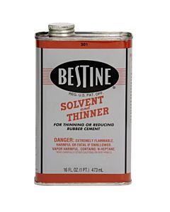 Bestine Rubber Cement Thinner 16oz