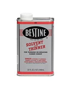 Bestine Rubber Cement Thinner 32oz