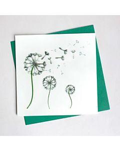 Quilling Card - Dandelion