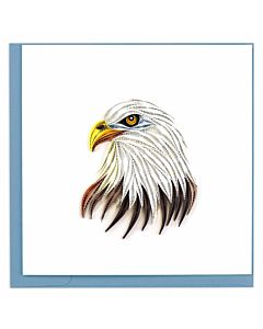 Quilling Card Bald Eagle