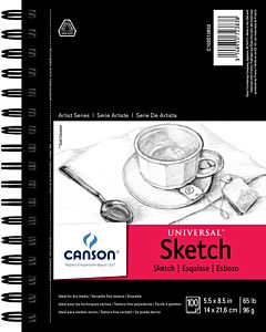 Canson Universal Sketch Pad 5.5x8.5""