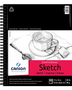 Canson Universal Sketch Pad 11x14