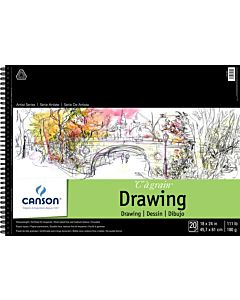 Canson Heavyweight Drawing Pad 18x24""