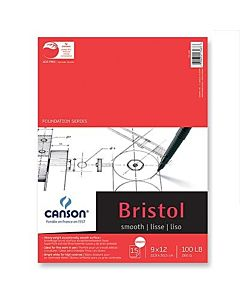 Canson Bristol Smooth 9x12 - 15 Sheets