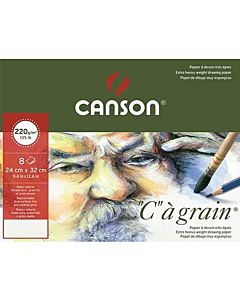 """Canson C' A Grain Drawing Pad 18x24"""""""