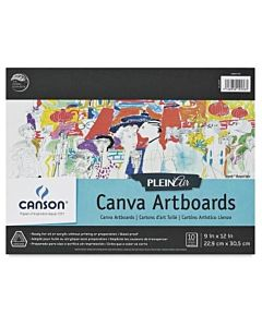 Canson Plein Air Board Pad Canvas 12x16