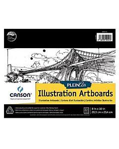 Canson Plein Air Board Pad Illustration 8x10