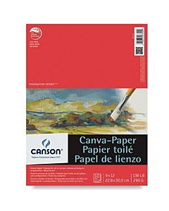 Canson Canva-Paper Pads 9x12