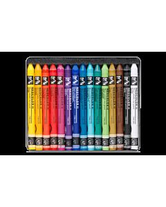 Caran d'Ache Neocolor II Crayons Set of 15 - Assorted Colors