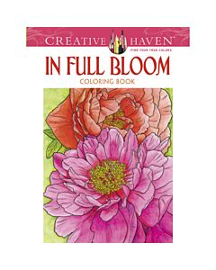Creative Haven In Full Bloom Adult Coloring Book