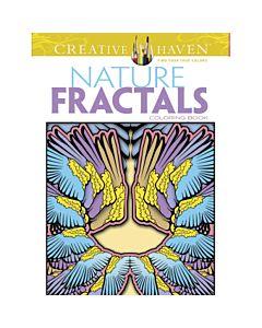 Creative Haven Nature Fractals Adult Coloring Book
